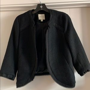 Silence and noise black blazer urban outfitters